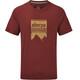 Sherpa Khangri - Camiseta manga corta Hombre - rojo